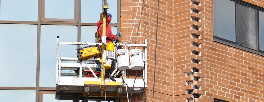 Pcb Caulking In Buildings : R j jacques inc building restoration caulking tuckpointing